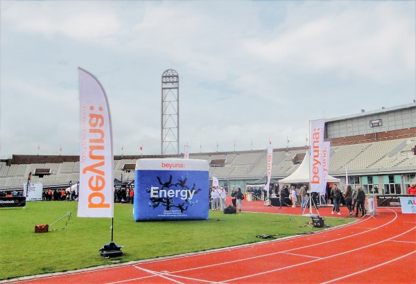 rtl, energy, beyuma, hardlopen, parcours, rennen, standbouw, decoratie, aankleding, evenement, event, entertainment, running, outdoor, tv, faciliteren
